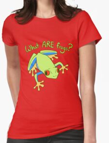 What ARE Frogs? (Tree edition) Womens Fitted T-Shirt