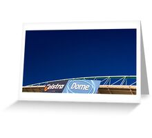 Telstra Dome Greeting Card