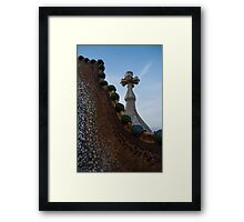 The Spine of the Dragon  Framed Print