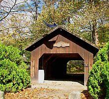 Thomas J. Malone Covered Bridge by Monnie Ryan