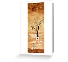 Can't change the wind Greeting Card