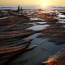 Rock pool sunset - Kalbarri by Miriam Shilling
