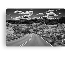 Life is a Highway 3 Canvas Print