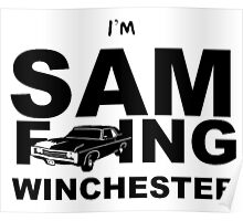 Sam F---ing Winchester 2 Poster