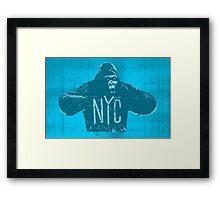 Gorilla NYC Framed Print