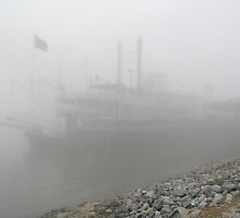 Riverboat In The Fog by tvlgoddess