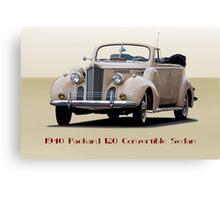 1940 Packard 120 Convertible Sedan II Canvas Print