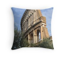 Colosseo- Rome, Italy Throw Pillow