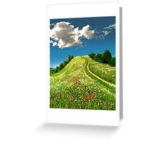 The Rise of Spring 1 Greeting Card
