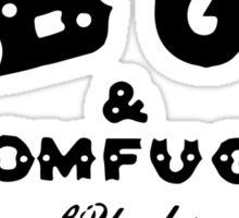 CBGB - Original Black on White Sticker