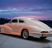 1946 Oldsmobile 'Custom' Sedanette 3Q Rear View by DaveKoontz