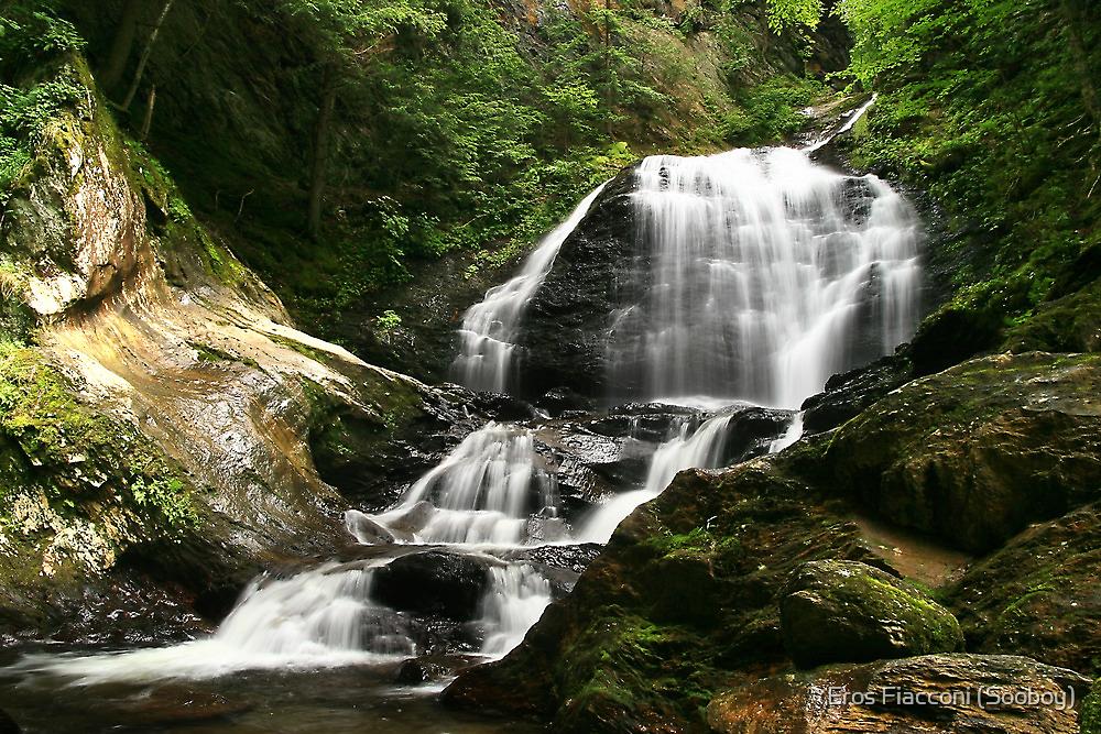 Moss Glen Falls near Stowe Vermont by Eros Fiacconi (Sooboy)