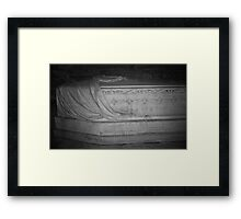 The Departed Framed Print