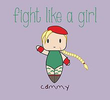 Fight Like a Girl - Cammy | Street Fighter by isasaldanha