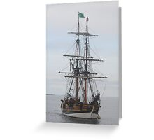 """Lady Washington"" Greeting Card"