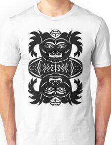 rakshasa duo - papercut pattern Unisex T-Shirt