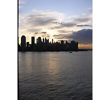 Sunrise on the Hudson Photographic Print