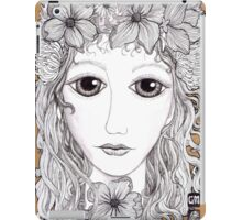 Flower crown iPad Case/Skin