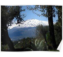 Mt. Etna Poster