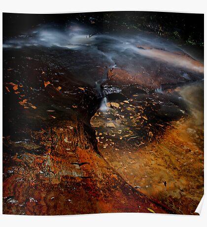 Adelina Falls, Blue Mountains, NSW Poster