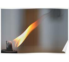 La Flama Poster