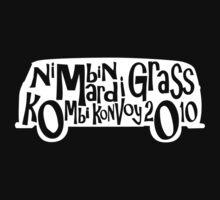 Nimbin Mardi Grass Kombi Konvoy 2010 tee shirt by KombiNation