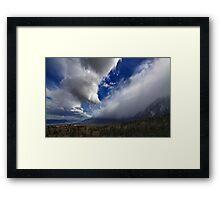 Eastern Sierra Storm Framed Print