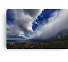 Eastern Sierra Storm Canvas Print