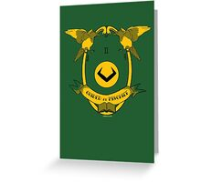 Guided By Mischief Greeting Card