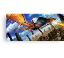 Cobra Dragon Canvas Print