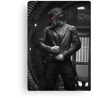 Star-lord Pose Eye Color Canvas Print