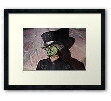 Dr Grim Framed Print