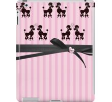 Poodles And Pink Hearts iPad Case/Skin