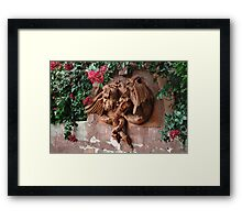 Dragon Fountain Framed Print