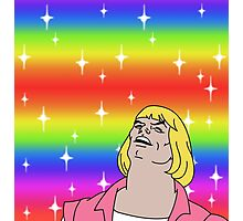 He-Man Gay Pride Photographic Print