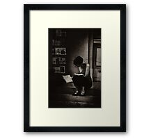 The Reader Framed Print
