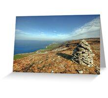 Beautiful Burren landscape Greeting Card
