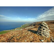 Beautiful Burren landscape Photographic Print