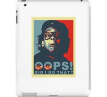 Oops Obama iPad Case/Skin