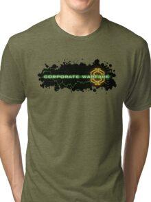 Corporate Warfare $ Tri-blend T-Shirt