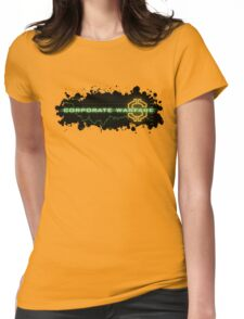 Corporate Warfare $ Womens Fitted T-Shirt