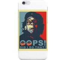 Oops Obama iPhone Case/Skin