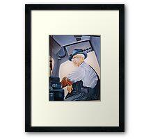 GRANDPA ALBEE Framed Print
