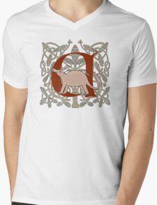 A is For Aardvark Mens V-Neck T-Shirt