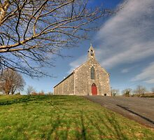 Rural Irish church by John Quinn