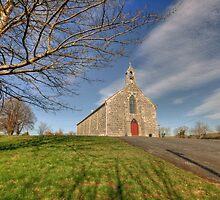 Rural Irish church by John Quinn