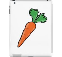 Cartoon Carrot iPad Case/Skin