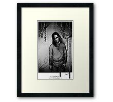 Eblis in Chains Framed Print