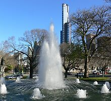 Melbourne fountain by PhotosByG