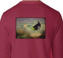 Kneeboard Surfing Long Sleeve T-Shirt